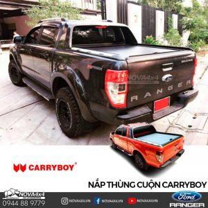 nắp thùng cuộn Ford Ranger màu đen