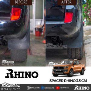 trước và sau khi lắp spacer