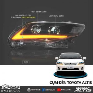 Đèn LED Toyota Altis