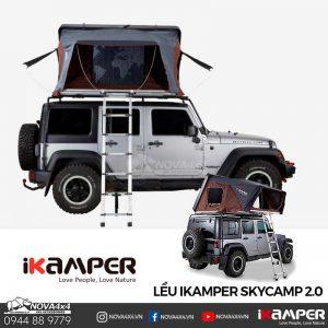 lều dã ngoại 4 người iKamper 2.0