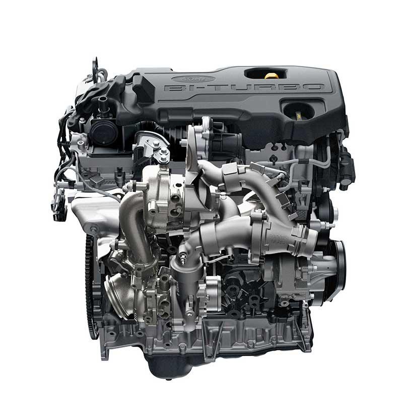 Động cơ Turbo kép ranger raptor