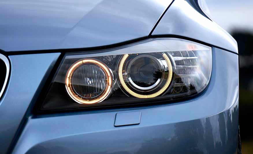 độ đèn xe BMW