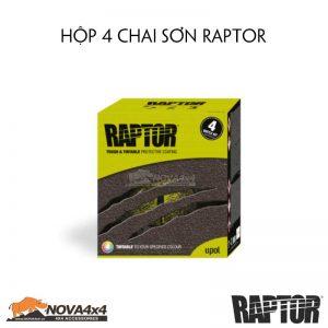 hộp sơn Raptor