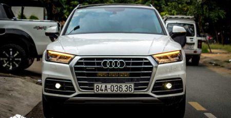 Audi Q5 sau khi được thi công ánh sáng