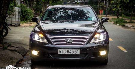 độ đèn xe Lexus