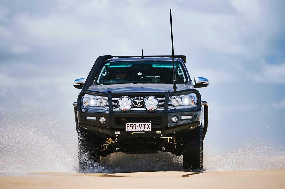 cản trước TJM cho Toyota Hilux