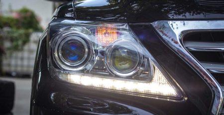đèn LX570 sau khi độ
