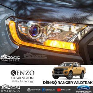 độ đèn Ford Ranger 2019