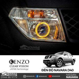độ đèn Nissan D40