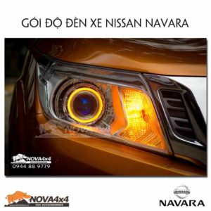 đèn độ xe navara