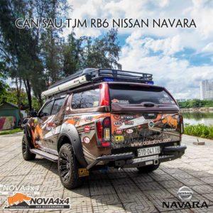 cản sau TJM cho bán tải Navara NP300