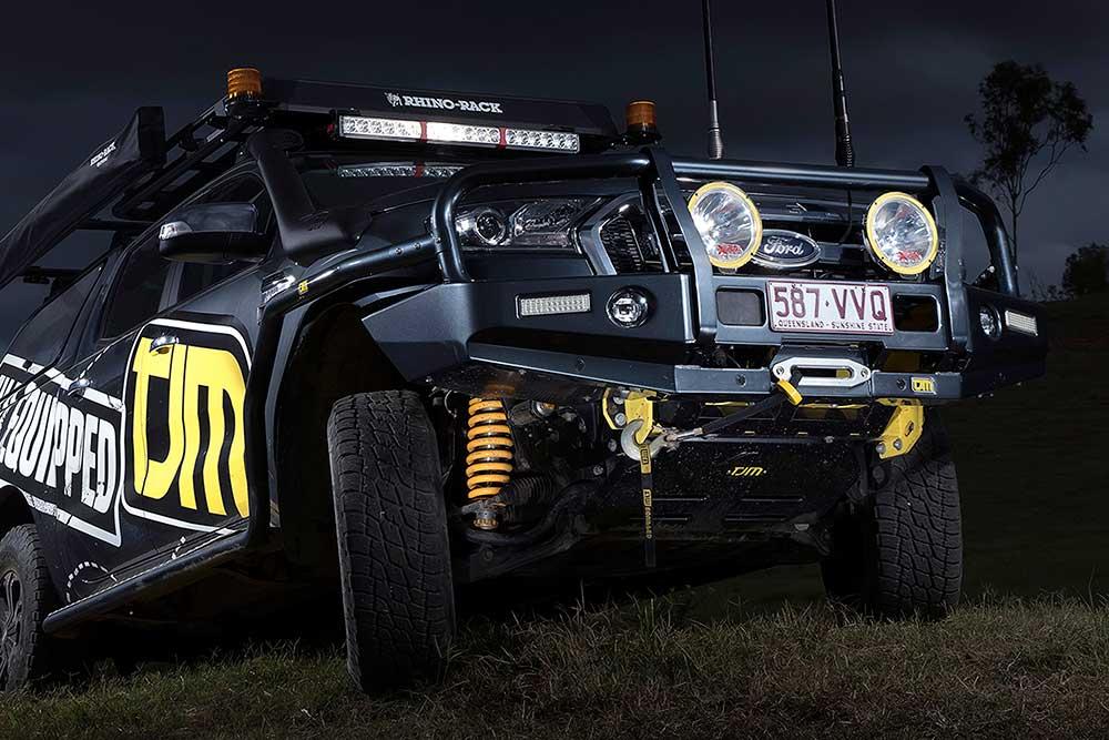 TJM Pace trên Ford Ranger
