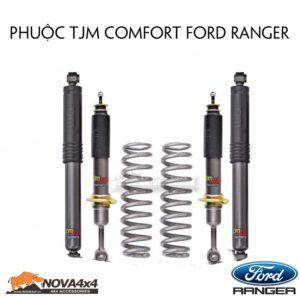 Giảm xóc TJM cho Ford Ranger, êm ái và nhẹ nhàng
