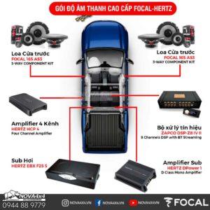 độ âm thanh xe bán tải
