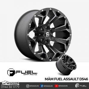 Mâm độ Fuel 17