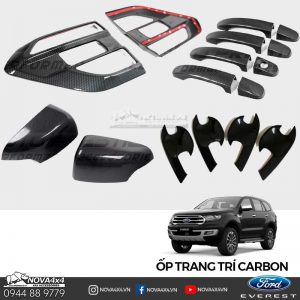 ốp trang trí Carbon Ford Everest