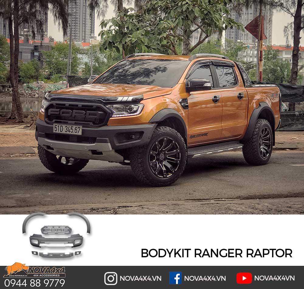 Ford Ranger WildTrak 2019 với gói độ Body Raptor