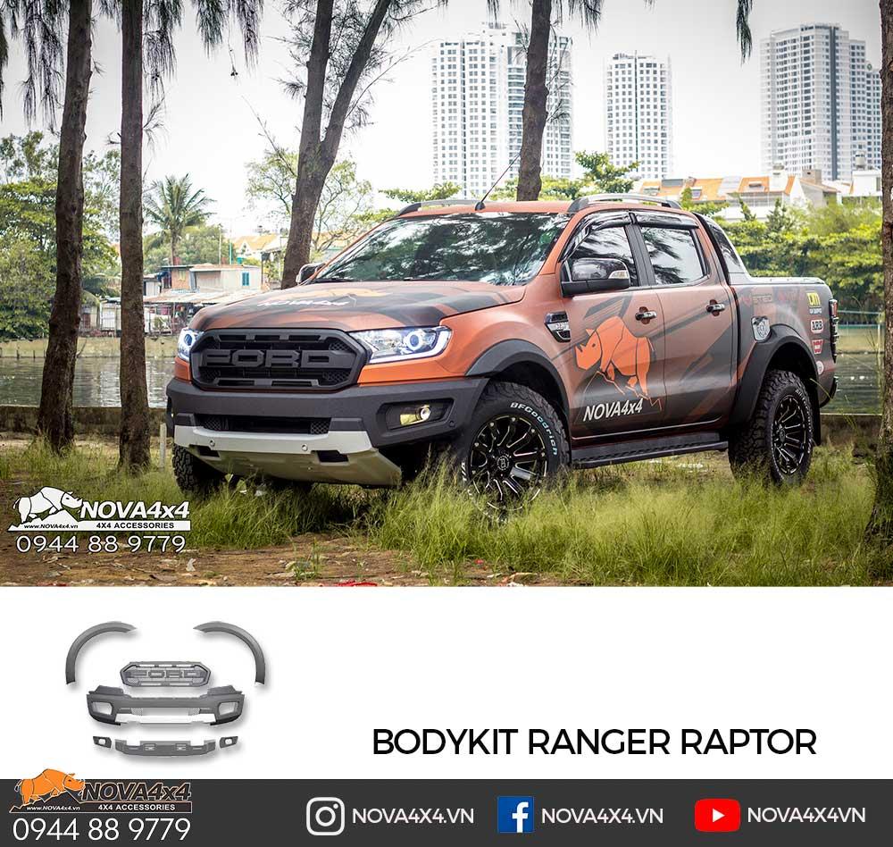 Bodykit Raptor kết hợp cùng bộ Decal Nova4x4 hầm hố