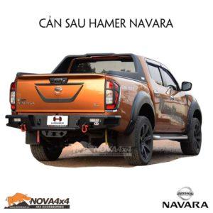 Cản sau xe Navara
