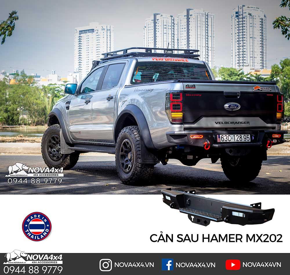 Model Hamer MX202 của Thái Lan là mẫu cản mang phong cách nhẹ nhàng và hiện đại