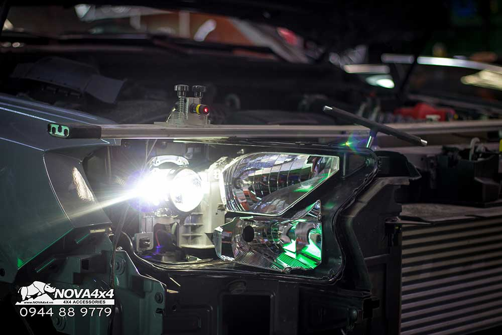 Nova4x4 là đơn vị đầu tiên áp dụng công nghệ canh chỉnh bằng máy laser tại Việt Nam