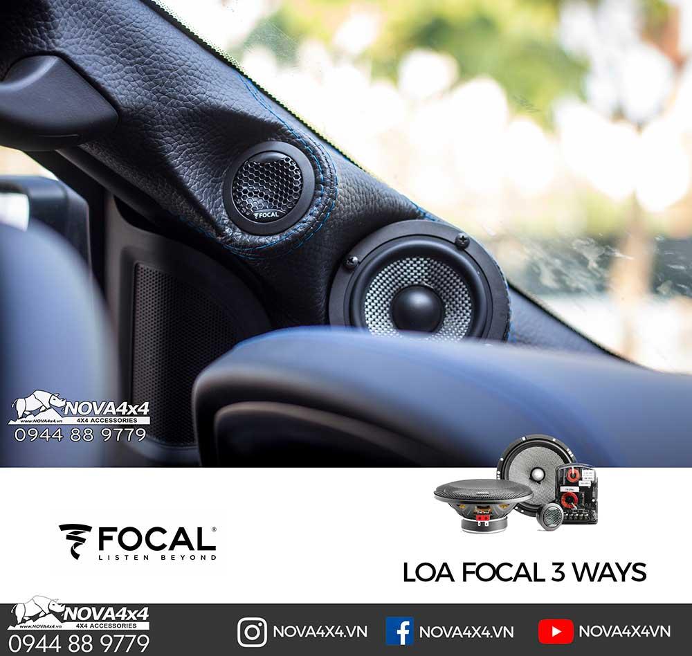 Loa Focal 3 ways từ Pháp