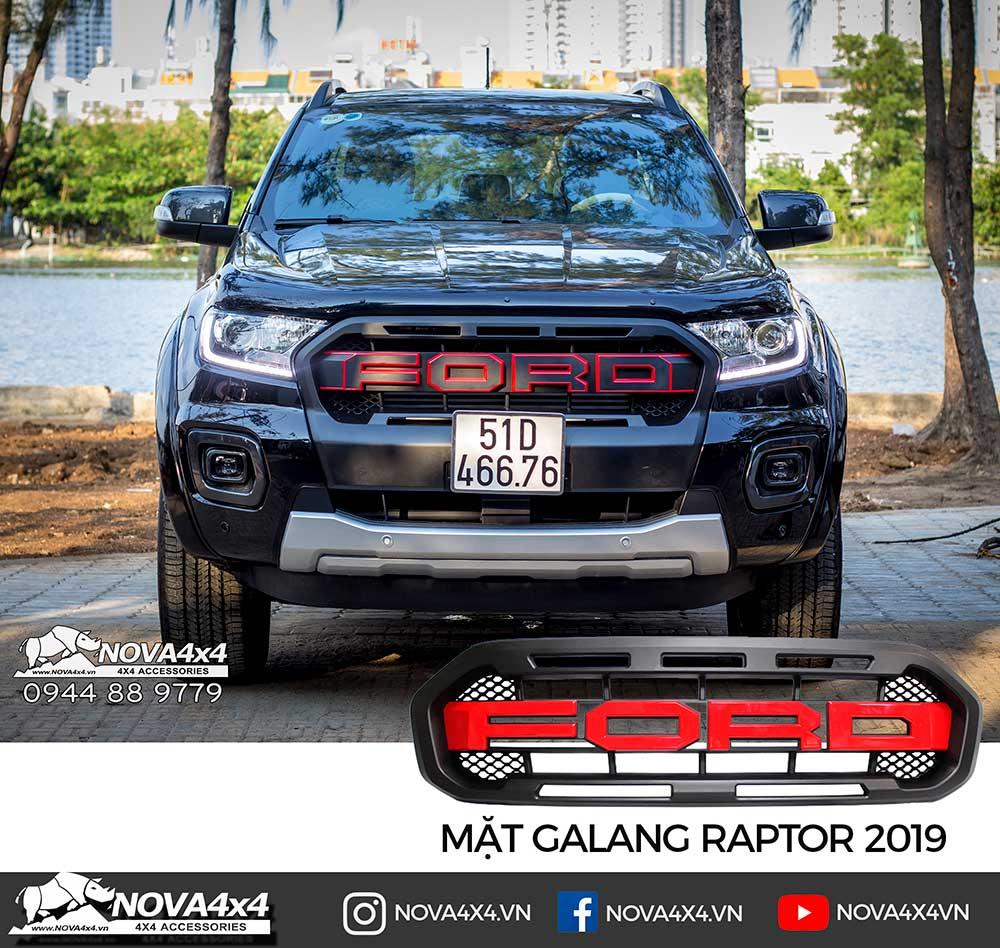 Mặt Galang chữ Ford kiểu Raptor 2019