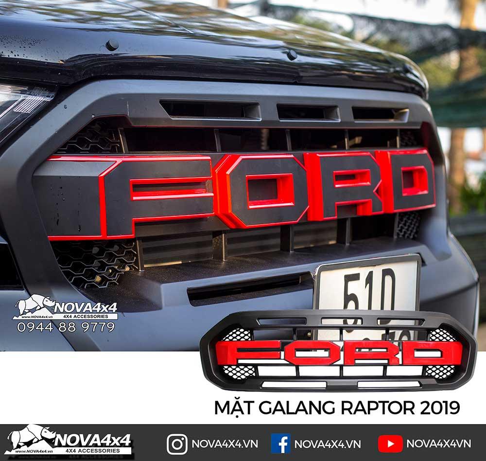 Mặt calang chữ Ford kiểu Raptor 2019