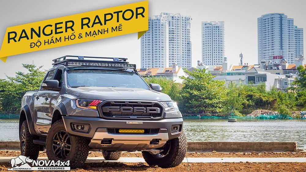 Ranger Raptor Màu Xám nâng cấp đồ chơi