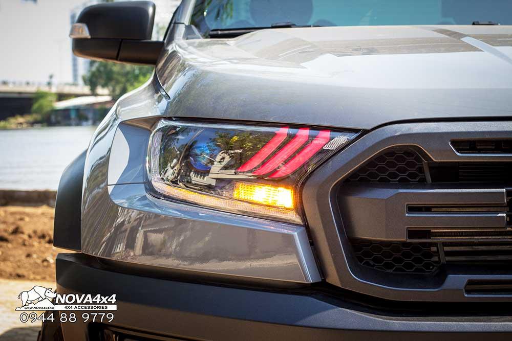 Cụm đèn độ trên Ranger Raptor