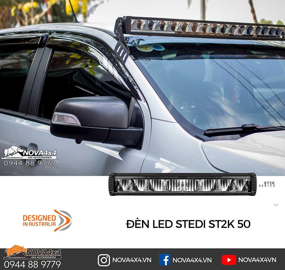 """STEDI ST2K 50"""" gắn trên kính lái là model được yêu thích nhất 2018"""