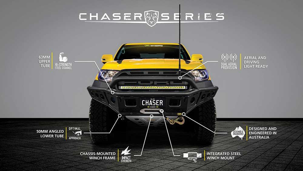 Giới thiệu Cản TJM Chaser Series