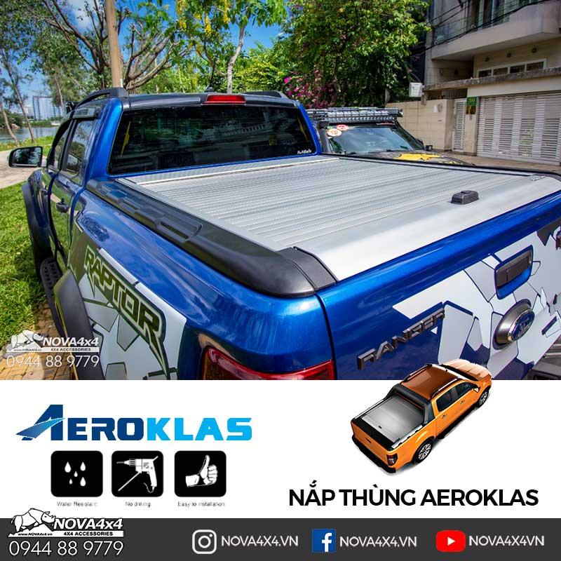 nắp thùng cuộn Aeroklas cho Ranger Raptor
