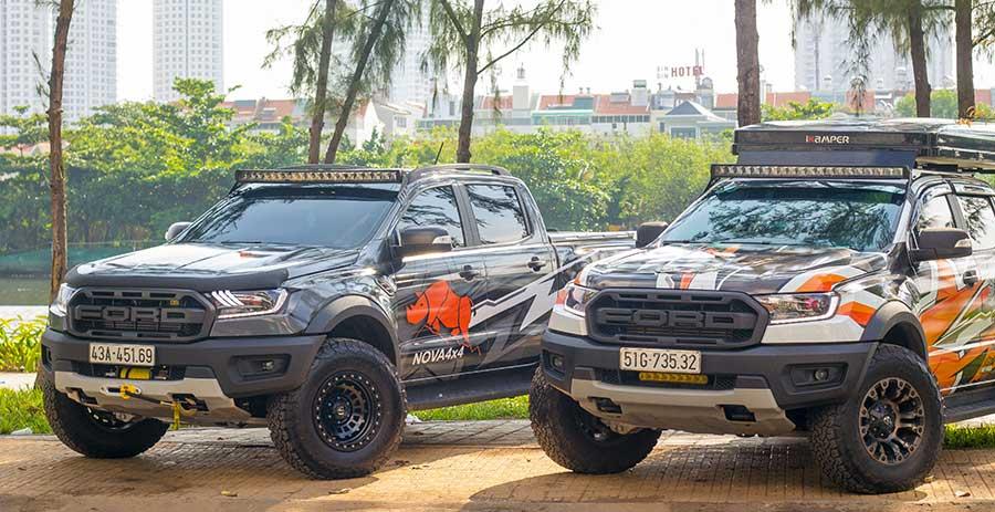 Độ xe Ranger Raptor