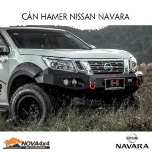 Cản trước Hamer cho Nissan Navara