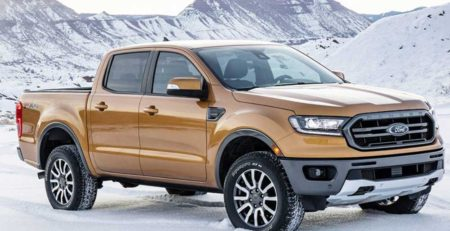 Bán tải Ford Ranger 2019