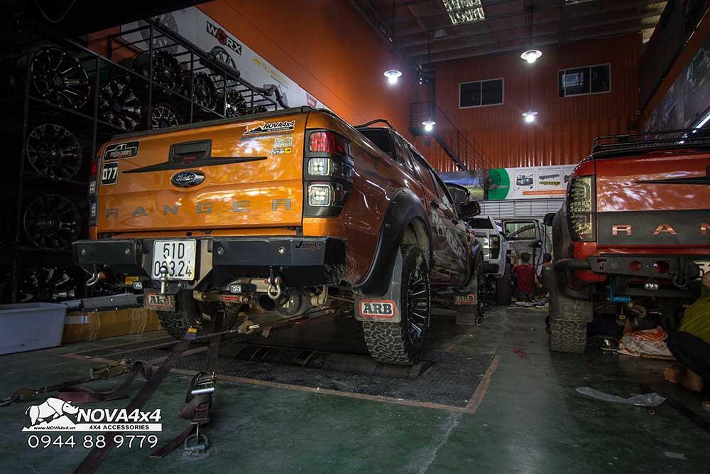 Ford Ranger WildTrak đang được Remap tại Nova4x4
