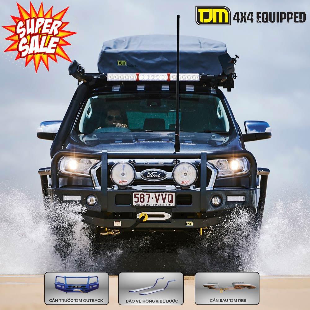 Phụ kiện bảo vệ cho Ford Ranger