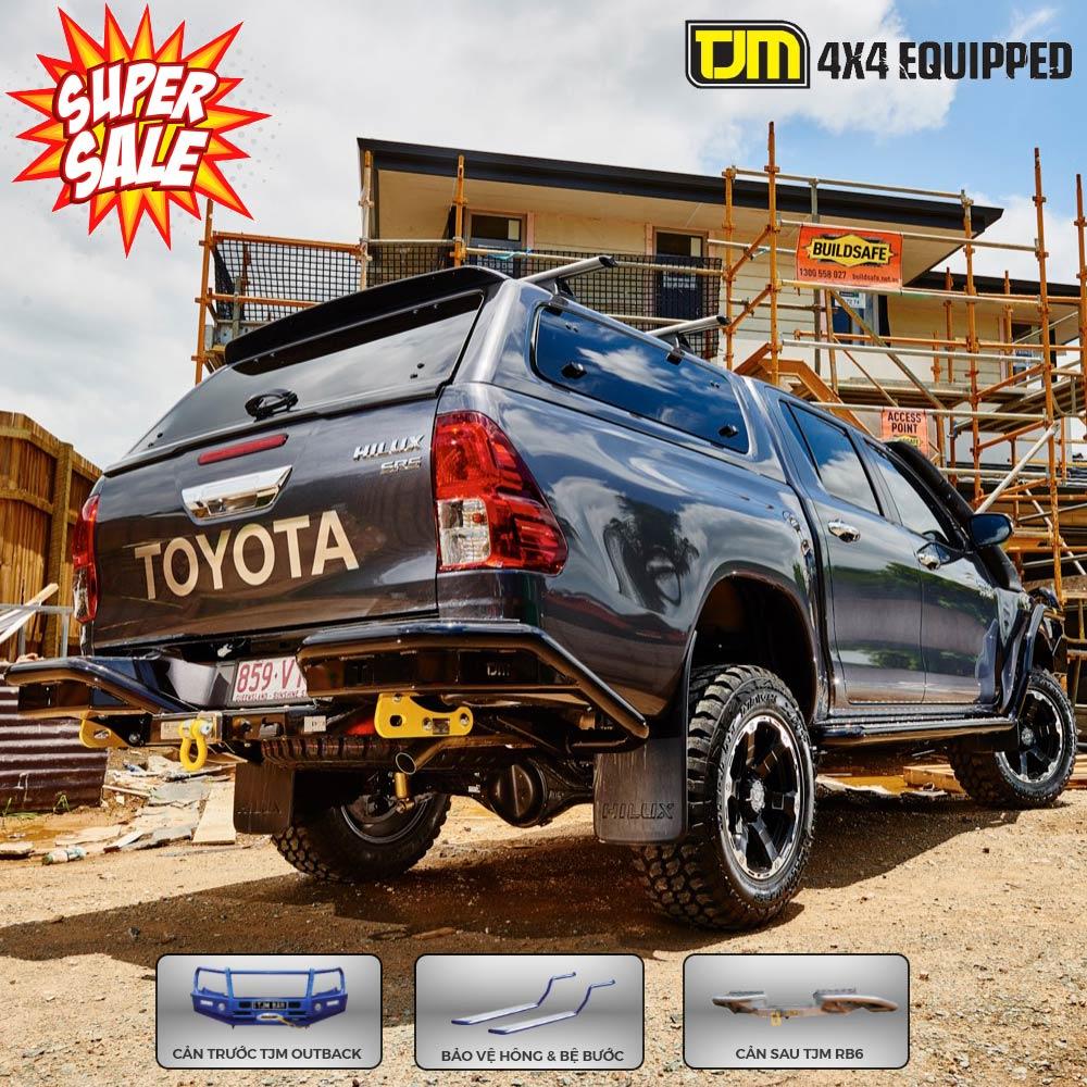 Phụ kiện bảo vệ cho Toyota Hilux