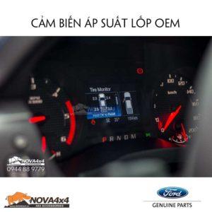 kích hoạt cảm biến áp suất lốp Ford Ranger Raptor