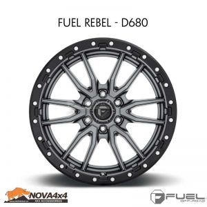 Mâm Fuel Rebel D680