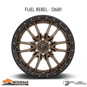 Mâm Fuel Rebel D681
