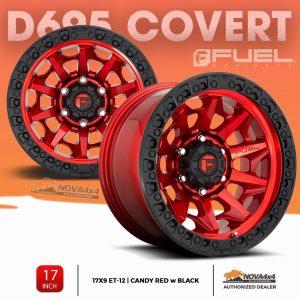 Mâm Fuel Covert Đỏ Đen