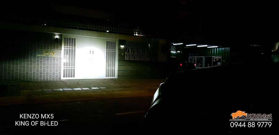 ánh sáng đèn bi led kenzo MX5