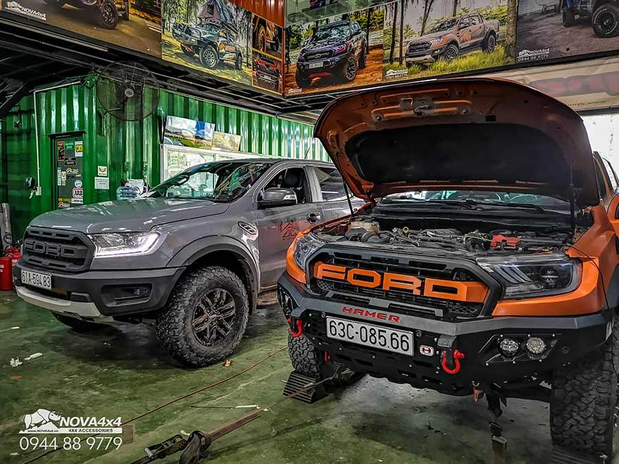 cản trước Hamer cho Ford Ranger