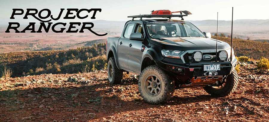 Tô điểm thêm vẻ đẹp cho chiếc bán tải Ford Ranger