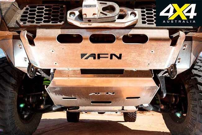 Bộ giáp bảo vệ gầm AFN làm từ hợp kim Nhôm