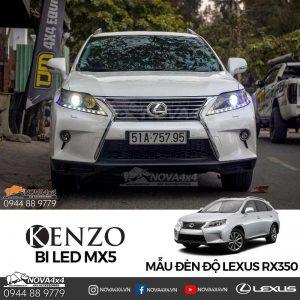 độ đèn Lexus RX350