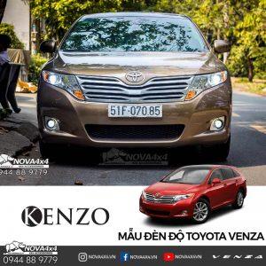 Toyota Venza độ đèn
