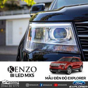 Đèn Ford Explorer tối